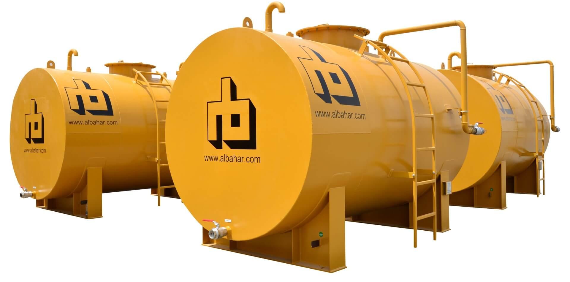 Fuel Storage Tanks | Leading Manufacturer in UAE - Al Bahar MCEM