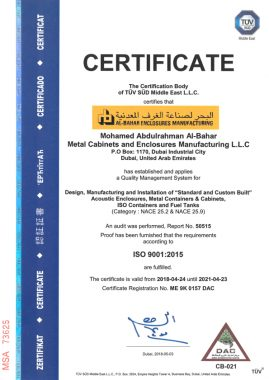 iso9001 269x380 - Awards and Certifications