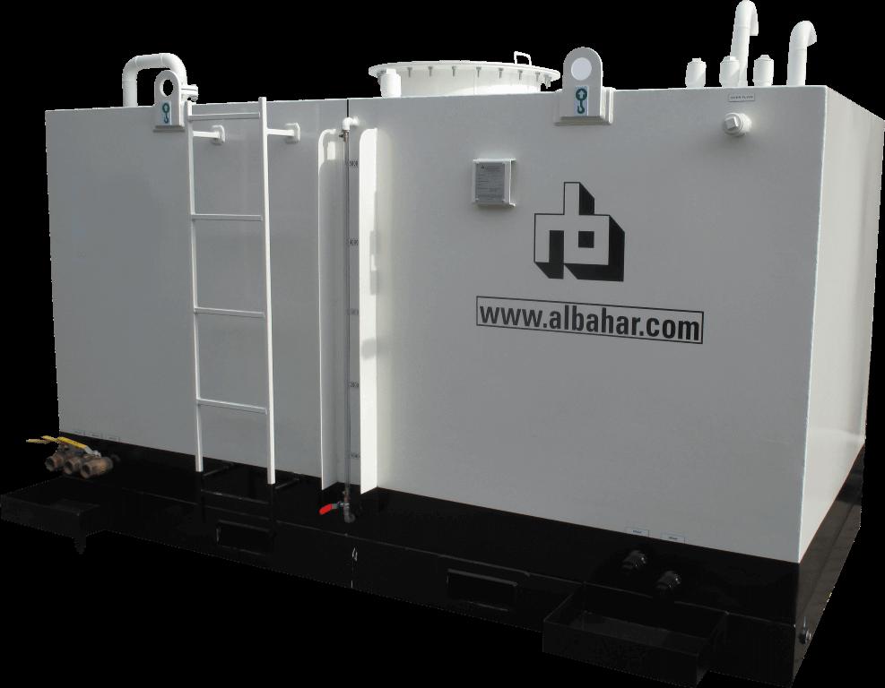 rectangular fuel storage tank  - Underground fuel tank