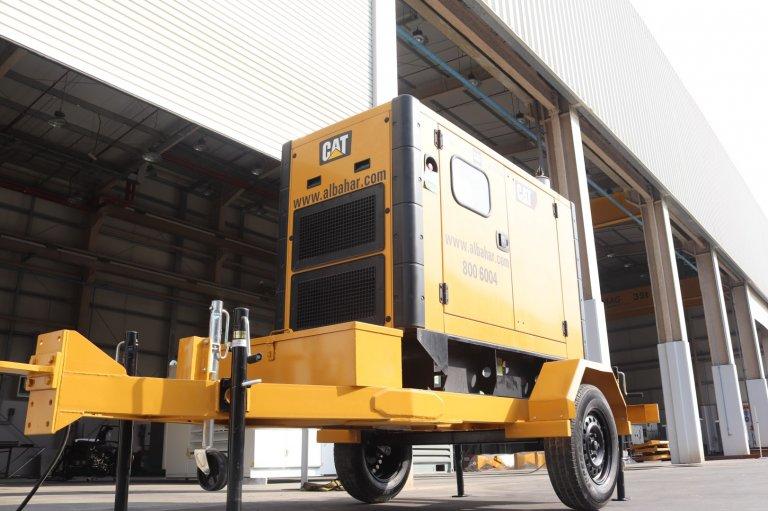 2 Ton Capacity Portable Generator Trailer