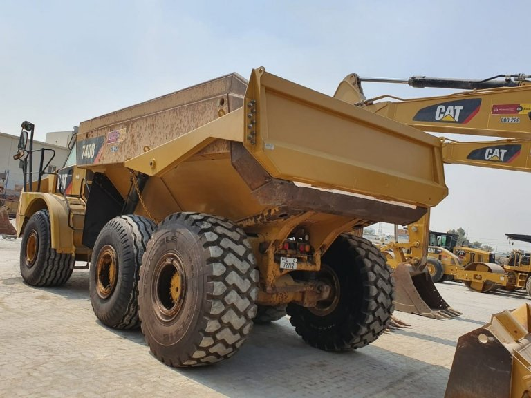 Tailgate for CAT Articulated Dump truck 768x576 - Al Bahar MCEM Gallery