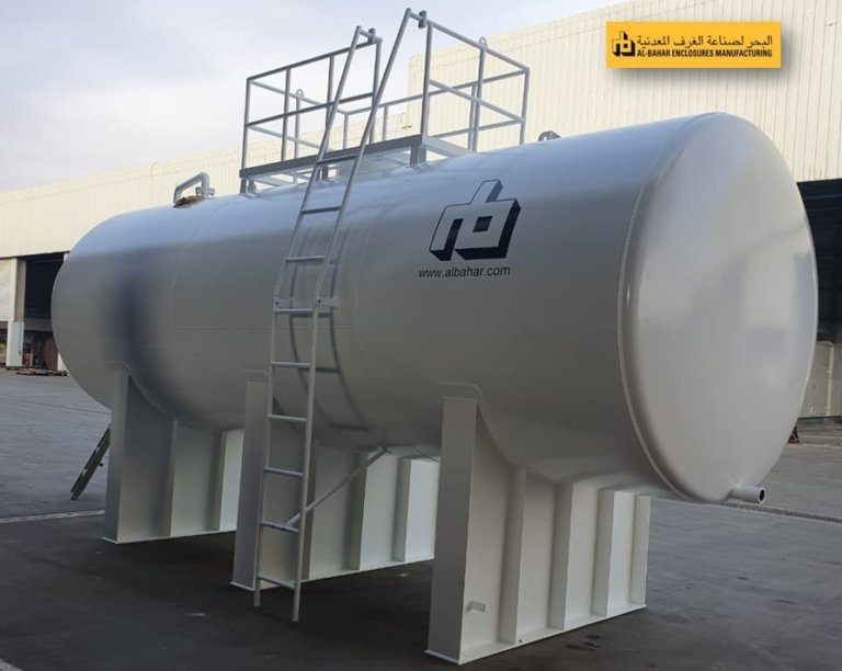 5000 IG Overground type Single Wall Cylindrical Diesel Tank 768x612 - Al Bahar MCEM Gallery
