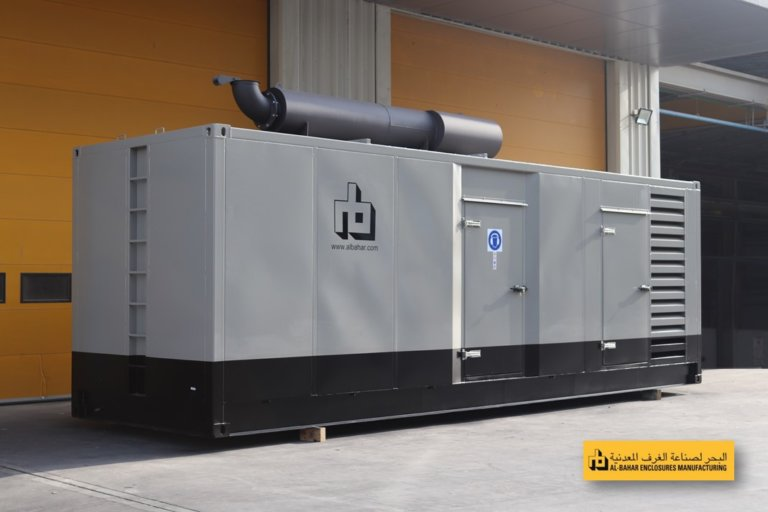 Generator Enclosure with Stainless Steel Muffler 768x512 - Al Bahar MCEM Gallery